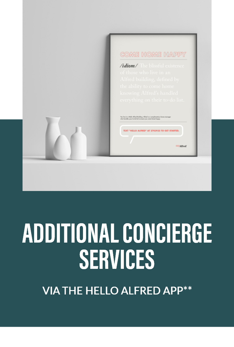ADDITIONAL CONCIERGE SERVICES